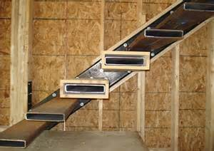 Stair Structure by Stair Structure Floating Stairs Pinned By Www Modlar Com