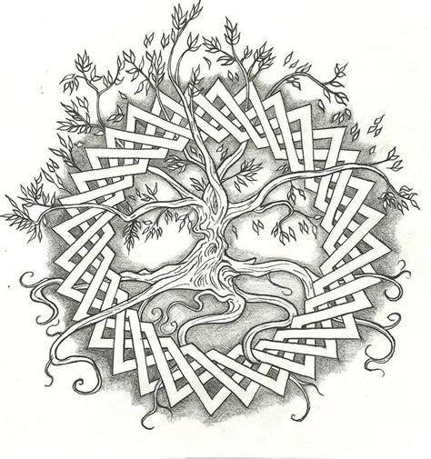 celtic tree of life celtic spirit wallpaper