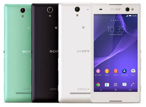 Sony Xperia C3 Back Soft Fancy Series 4 Murah sony xperia c3 with 5 5 inch hd display 5mp wide angle front with led flash announced