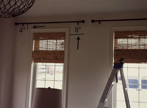 install curtain rod best 25 hanging curtain rods ideas on pinterest how to