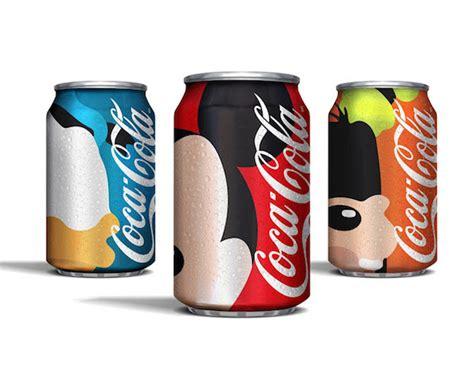 Mikel Fanta packaging artista redise 241 a las latas de coca cola con
