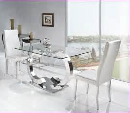 All Glass Dining Room Table Mirrored Dining Room Table Home Design Ideas
