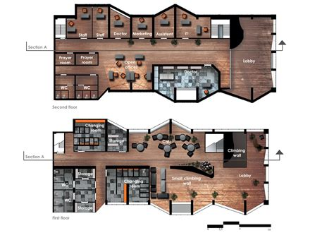 recreation center floor plan floorplan community center by zlaja on deviantart