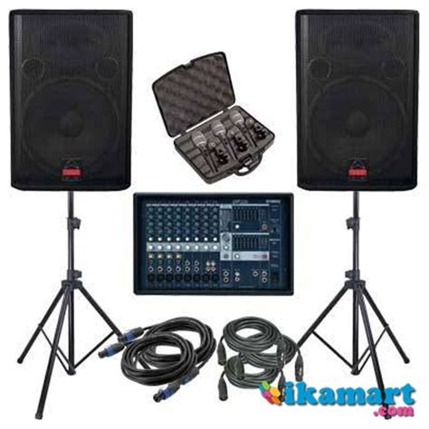 Power Mixer Audio Murah jual sound system murah speaker power li mixer mic