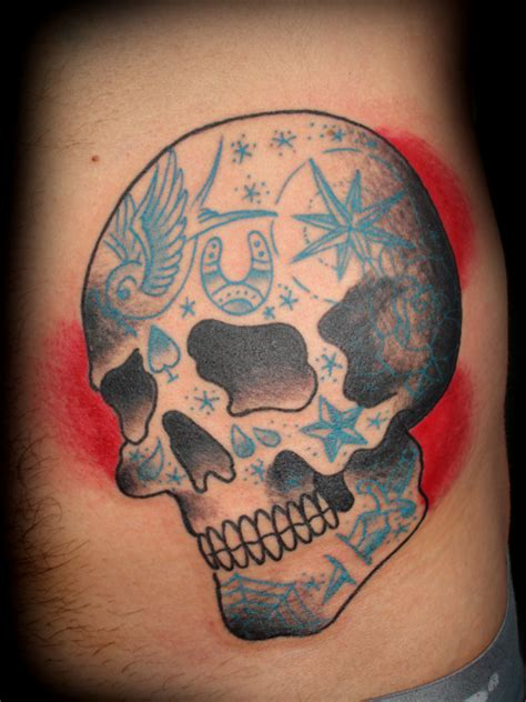 traditional skull tattoo traditional skull 2015