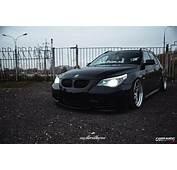Stanced BMW 5 Touring E61
