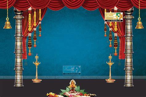 design background ganpati stage background design banner template ideas naveengfx