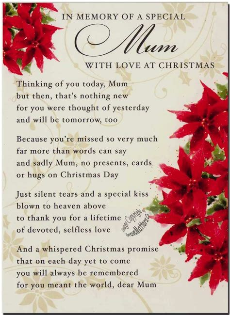printable christmas cards for mom and dad loving memories of a special mom on christmas pictures