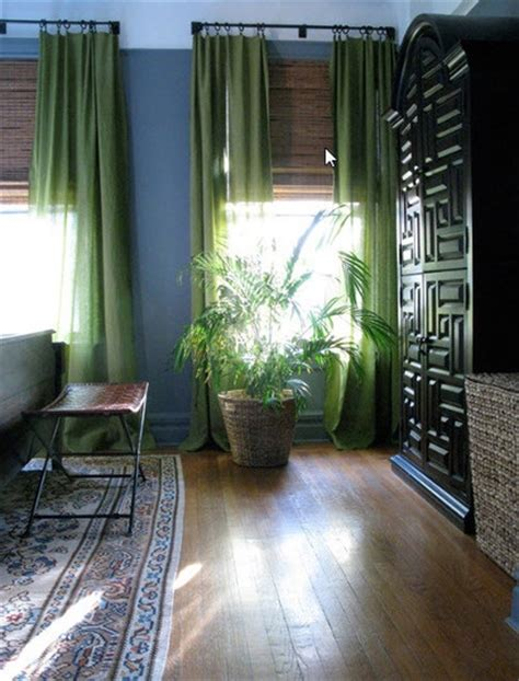 green walls grey curtains 25 best ideas about green curtains on pinterest green