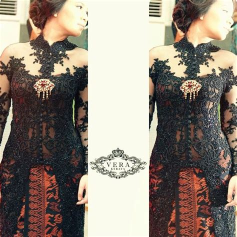 Dress Brukat Hitam Merah 122 best images about kebaya is on