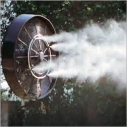 learn how to use an outdoor misting fan for a cooler backyard yard surfer