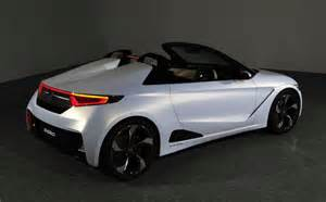 new convertible car honda previews new convertible sports car with s660 concept