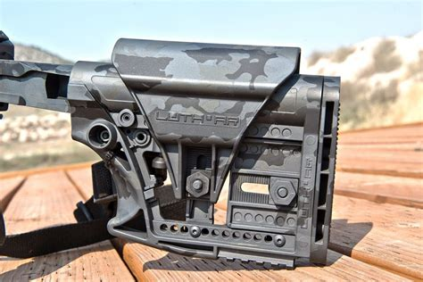 Luth Ar Stock Mba 3 by Luth Ar Mba 3 Carbine Stock On Target Magazine