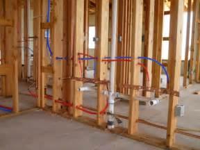 How To Run Plumbing by Plumbing Design Building A Green Arizona Home