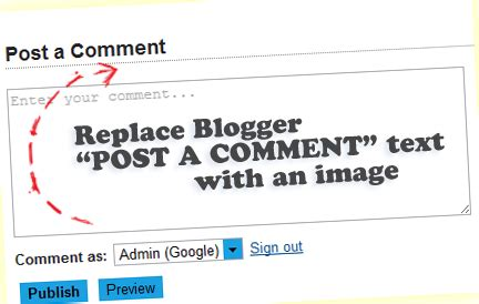 blogger sign out how to change blogger quot post a comment quot message helplogger