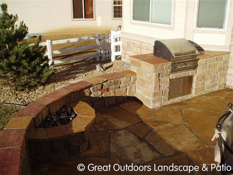 denver colorado landscaping outdoor fireplaces grills