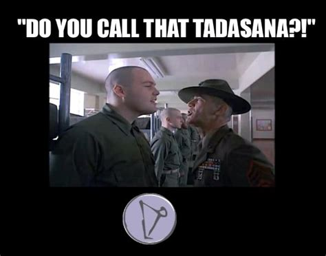 Full Metal Jacket Meme - full metal jacket yogimovies forward fold yoga memes