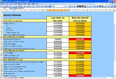 Repair Excel Spreadsheet by Schedule Spreadsheet Vertola