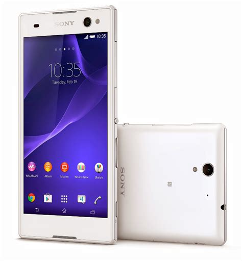 Hp Sony Xperia 5 Inch sony xperia c3 with 5 5 inch hd display 5mp wide angle