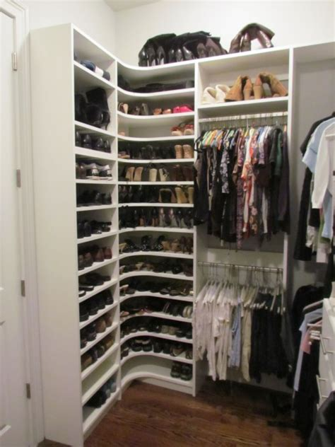 Corner Closet Systems by Shoe Storage Atlanta Closet