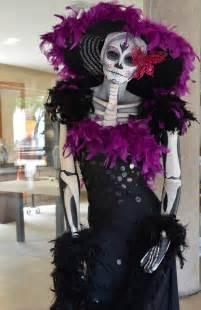 Catrina Costume Calavera La Catrina Day Of The Dead Grande Dame Oaxaca Cultural Navigator Norma Schafer