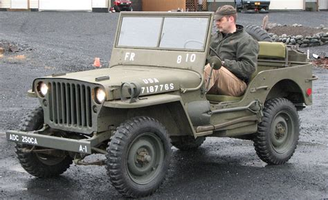 willys jeepster kodiak military history 1945 willys mb jeep