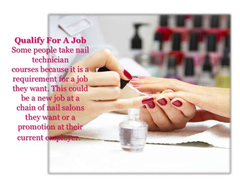Nail Courses by Nail Technician Courses Presentation