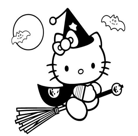 imagenes de hello kitty para halloween dibujos de halloween para colorear im 225 genes halloween