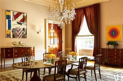 Obama Dining Room Makeover Inside The White House Residence Of The Obama