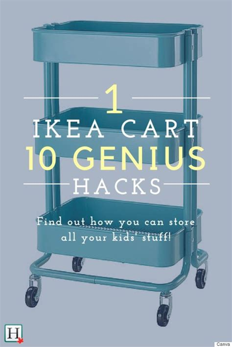 ikea hacks 10 reasons every parent needs the raskog cart