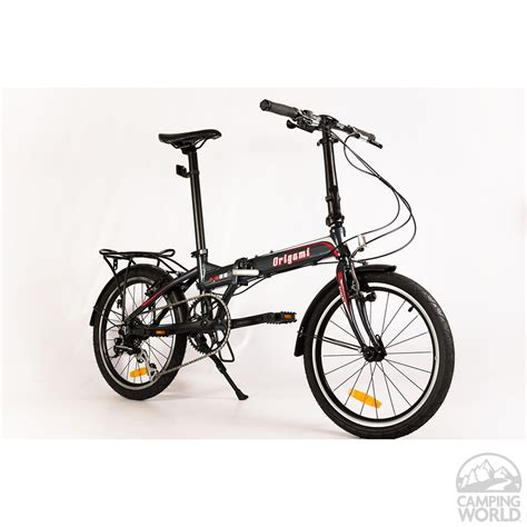 Origami Folding Bike Review - origami crane 8 bike gray metallic origami bicycle