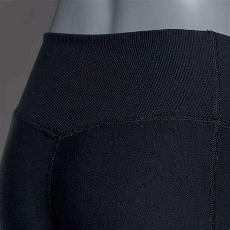 Nike As W Power Legend Crop Celana Fitnes 833062010 nike womens power legend crop veneer black cool grey