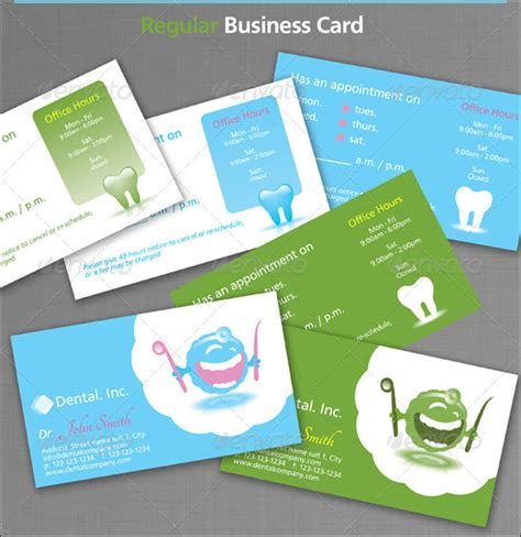 31 Dental Business Card Templates Free Psd Vector Download Dentist Business Card Template Free
