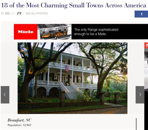 most charming towns in america charming small towns brays island