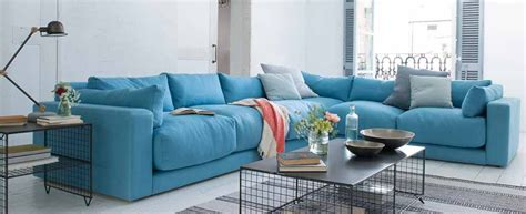big blue comfy couch corner sofas comfy l shaped sofas loaf