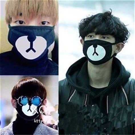 Masker Mulut Kpop Exo kpop bts v mask muffle bangtan boys