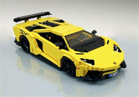 lamborghini lego set lego lamborghini aventador superveloce the lego car