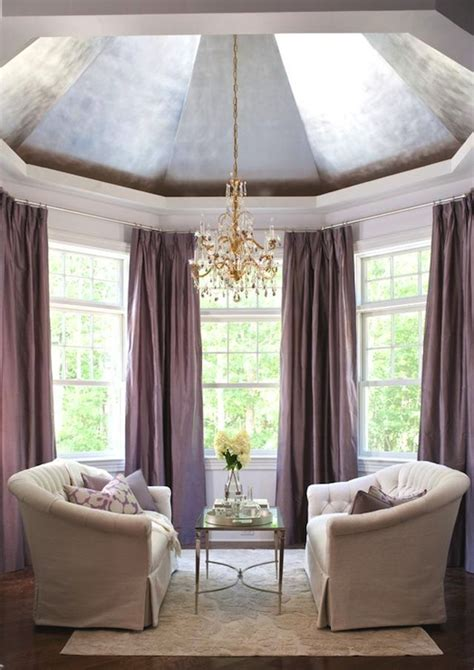 purple curtains contemporary living room ralph lauren cape  traditional home