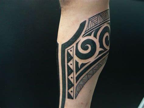 arm tribal tattoo by m crow tattoo