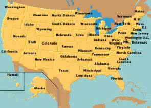 i need a map of the united states of america encyberpedia home pages of the united states