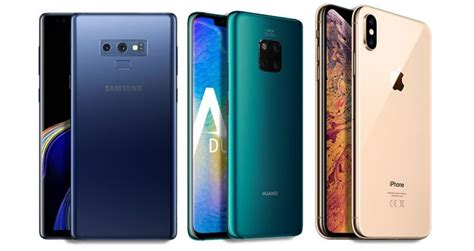 huawei mate  pro  iphone xr  samsung galaxy note