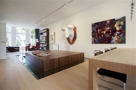 living room platform pena architecture converts museum to luxury apartment casa k