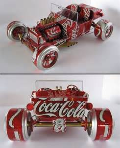 Candy Christmas Centerpieces - 15 creative soda can crafts hative