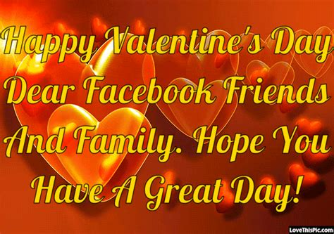 happy valentines day to friends and family happy valentines day quote for friends and family pictures