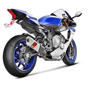 Exhaust System Yamaha R1 2015 Akrapovic Evolution Gp Exhaust System Yamaha R1 R1m 2015