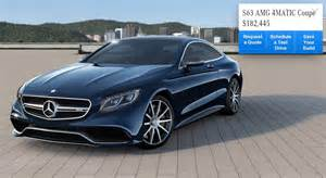 mercedes s class coupe configurator goes live picture