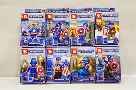 Sy 874 Captain America Jet Pursuit lego captain america twsjpg lego marvel captain america golden age custom minifigure