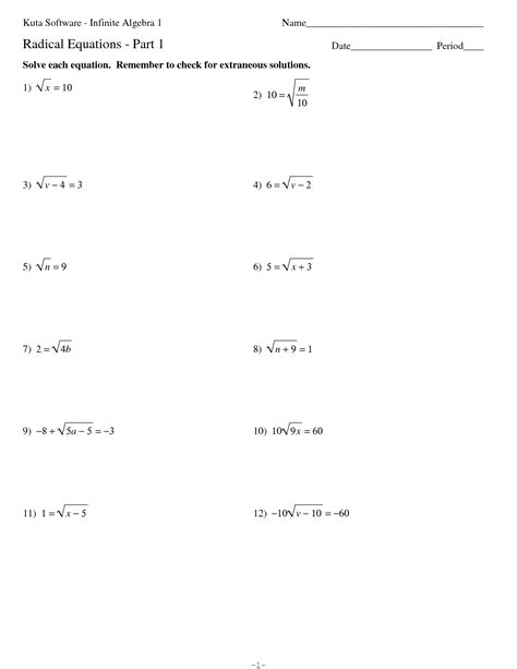kutasoftware infinite algebra 2 smart kuta software infinite 17 best images of algebra 1 radicals worksheet 7th grade algebra worksheets dividing radical