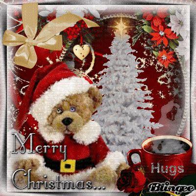 merry christmas hugs image  blingeecom