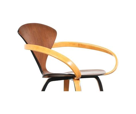 Plywood Armchair by Norman Cherner Molded Plywood Armchair For Plycraft For